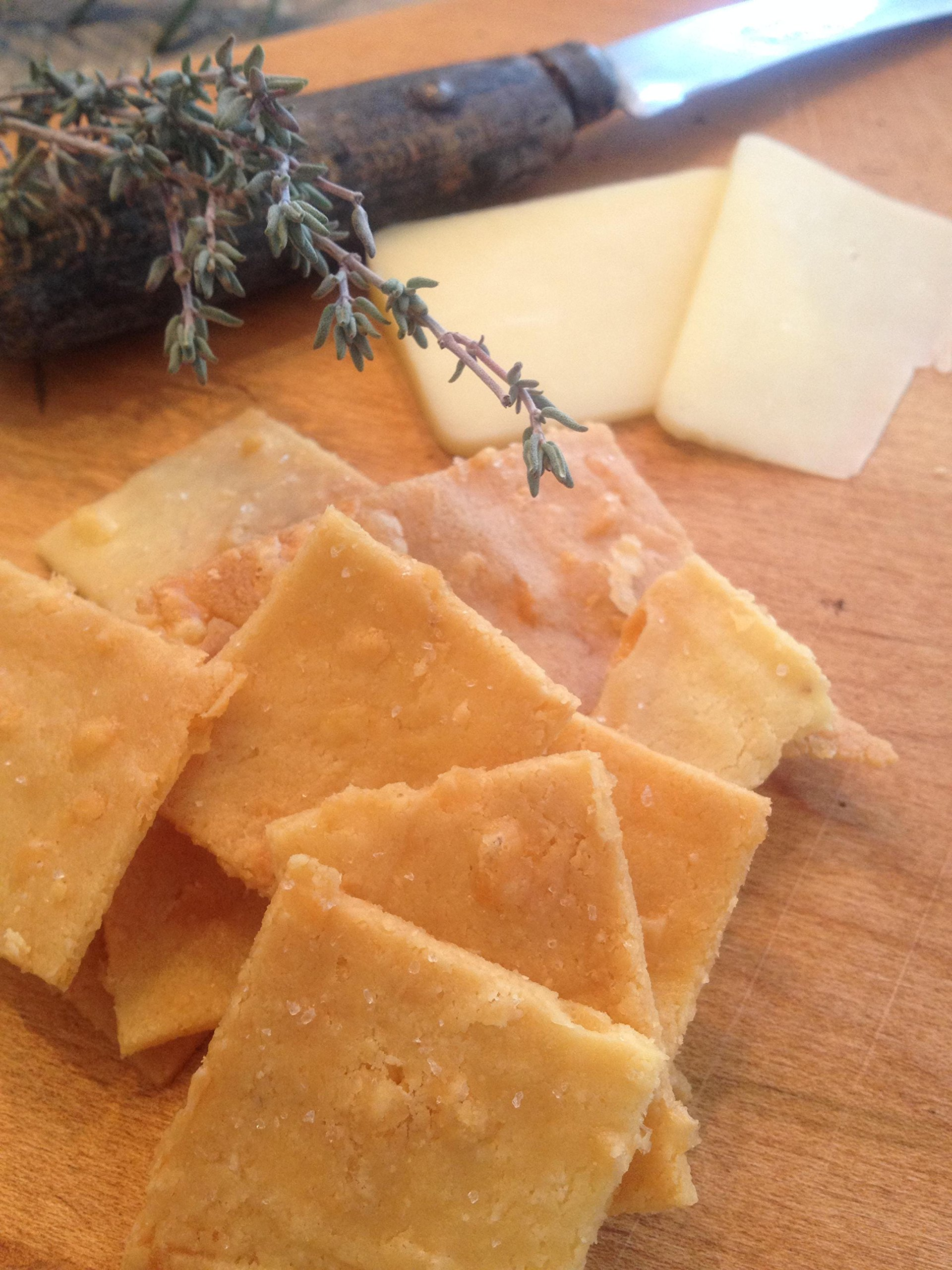 Liberated Cheddar Crackers, Low Carb by Liberated