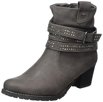Jane Klain Damen 253 430 Cowboy Stiefel, Schwarz (Black), 41 EU