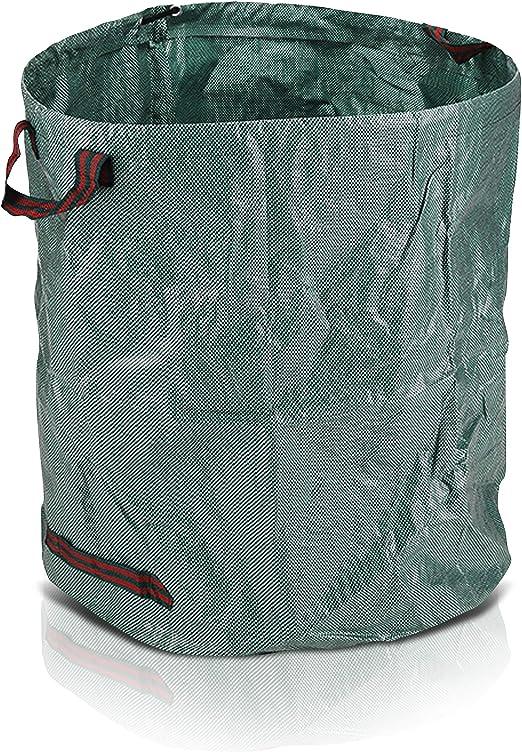 Oramics - Saco de jardín para hojas - 272 litros 67 x 75 cm - saco de basura de jardín de polipropileno impermeable con 4 asas para facilitar el transporte y vaciado: Amazon.es: Jardín