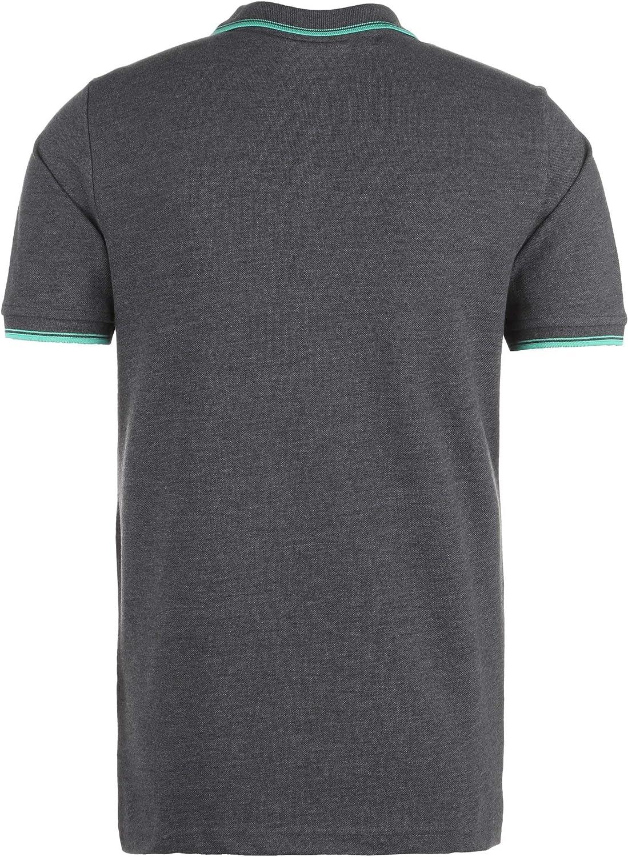 Liverpool FC Mens NB Dark Grey Base Polo Shirt 19//20 LFC Official