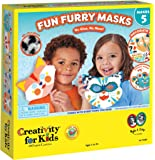 Creativity for Kids Fun Furry Masks - Craft 5 Animal Masks for Kids