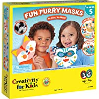 Creativity for Kids Fun Furry Masks - Craft 5 Animal Masks for Kids