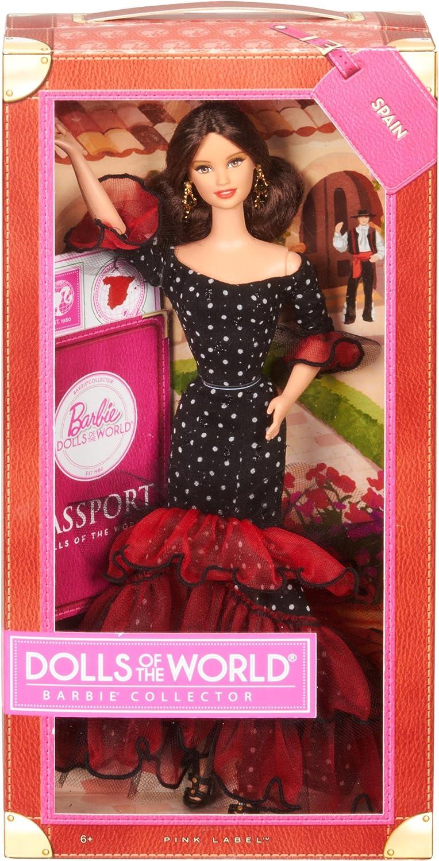 Amazon.es: Barbie - Muñecas del Mundo: España (Mattel X8421): Juguetes y juegos