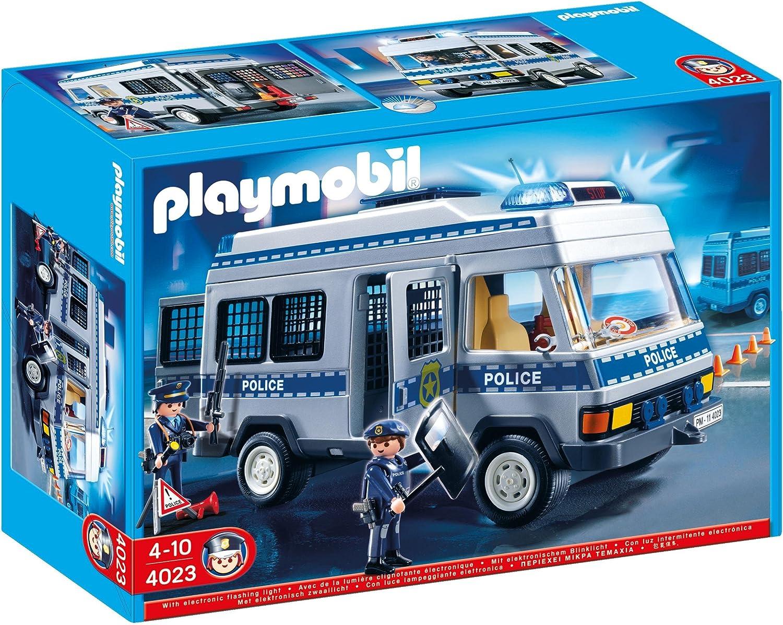 PLAYMOBIL - Furgón policía (4023)