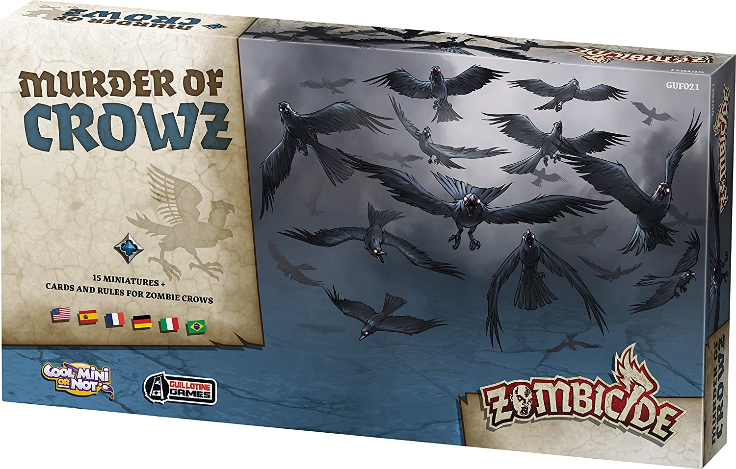 Zombicide: Black Plague - Murder of Crowz (Edge Entertainment EDGBP033): Amazon.es: Juguetes y juegos