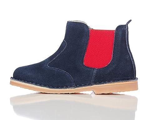 Red Wagon Botines de Serraje para Niño, Unisex: Amazon.es: Zapatos y complementos