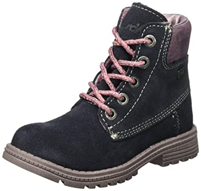 Lurchi Mädchen Ria-Tex Desert Boots, Rot (Rose), 35 EU