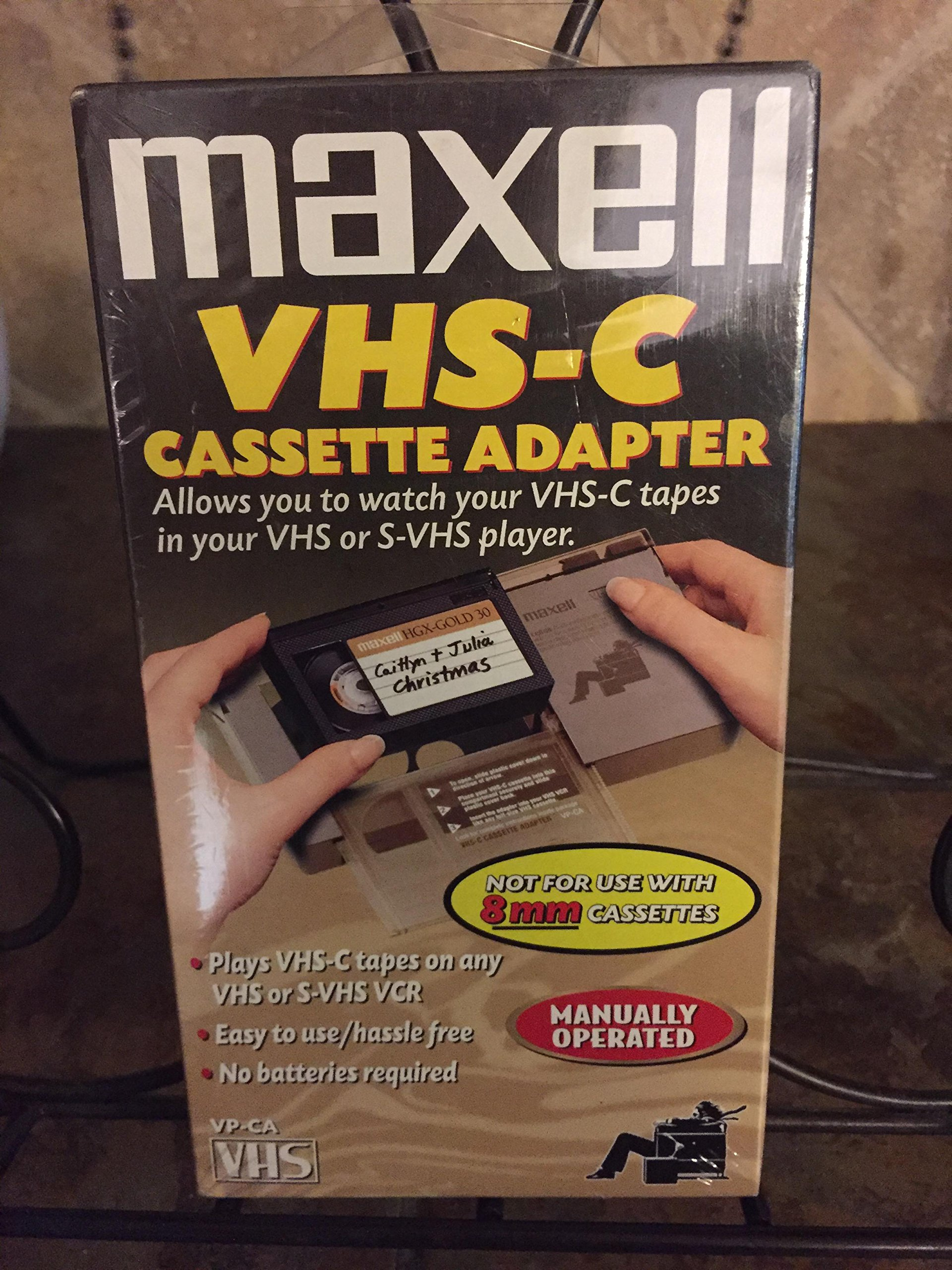 Maxell Cassette VHS-C Adapter (290060) by Maxell