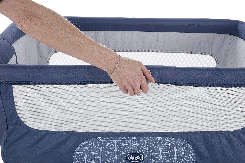 balanc/ín y 11 alturas Azul Chicco Next 2 Me Dream Cuna de colecho con anclaje a cama Navy