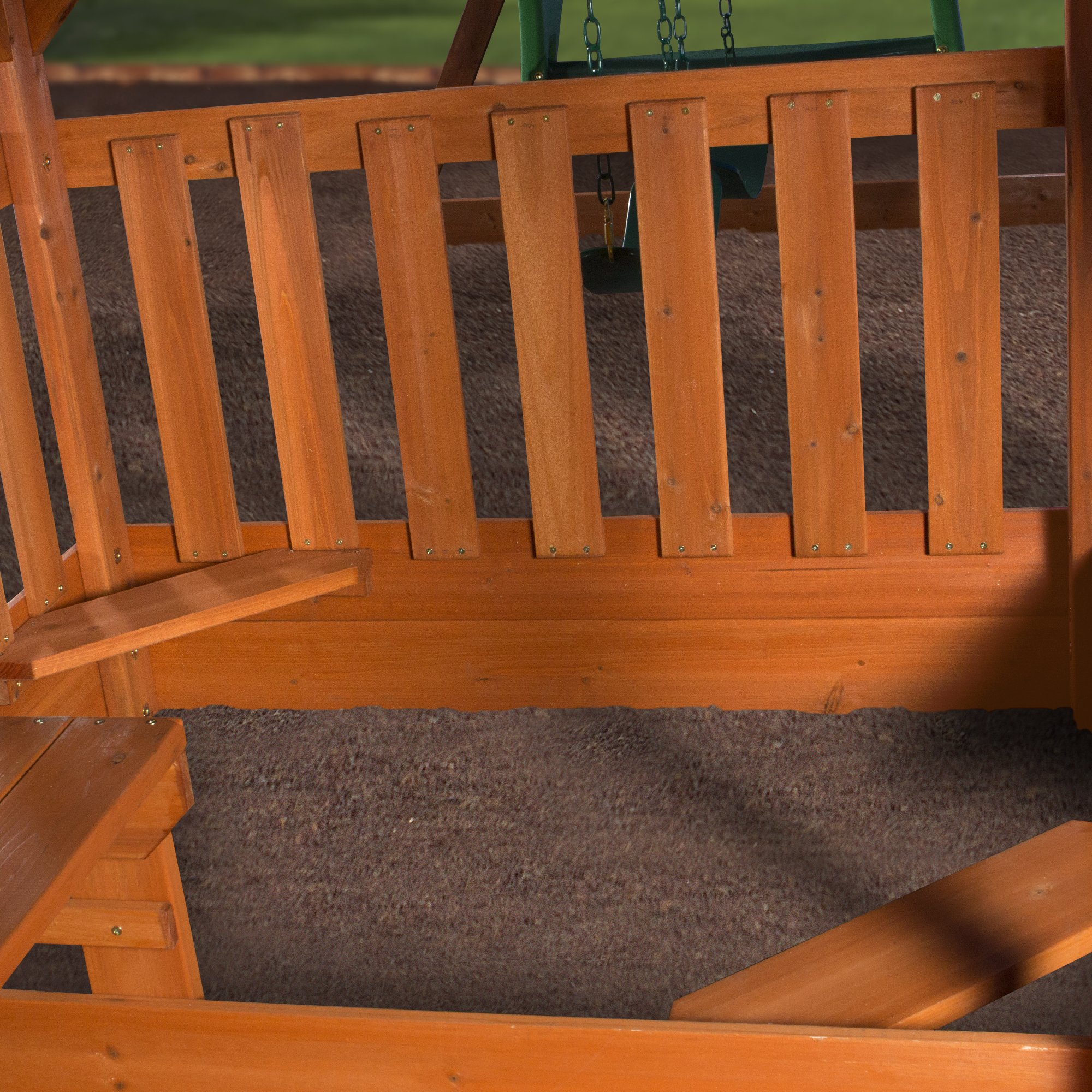 Backyard Discovery Pacific View All Cedar Wood Playset Swing Set by Backyard Discovery (Image #7)