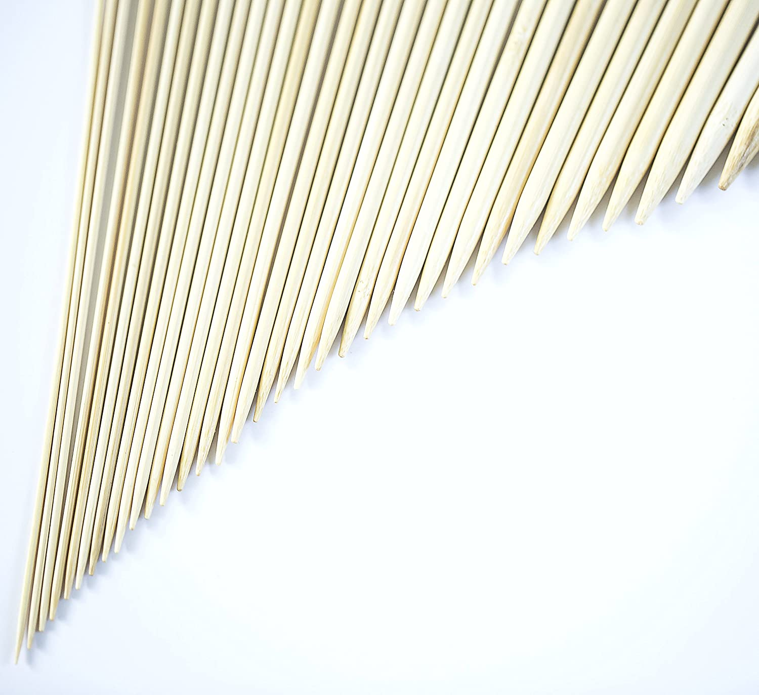 36 Pcs Smooth Bamboo Knitting Needles Set by Celley 18 Sizes US 0 to US 15