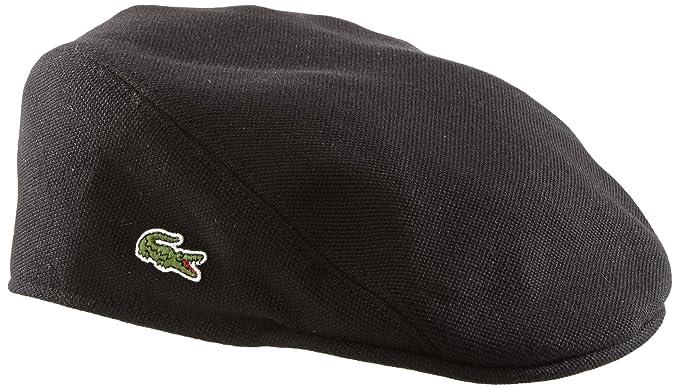 312e0db56 Lacoste Men s Hat - Black - Schwarz (031) - Small