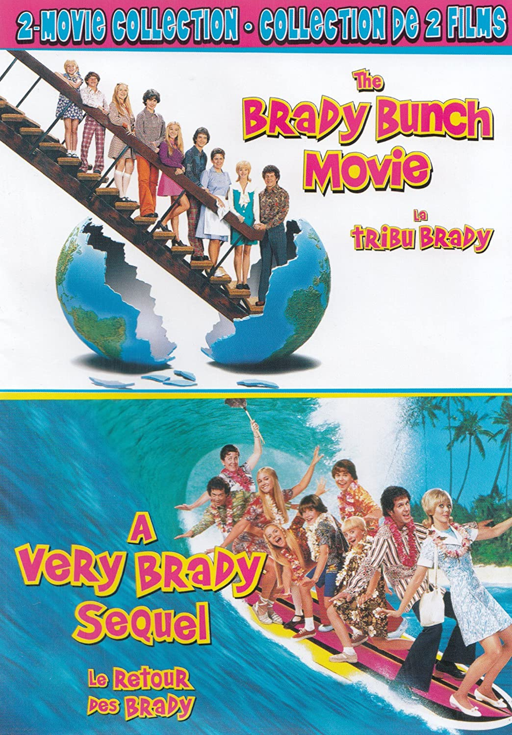 Amazon The Brady Bunch Movie A Very Sequel 2 Collection Shelley Long Gary Cole Christine Taylor Christopher Daniel Barnes