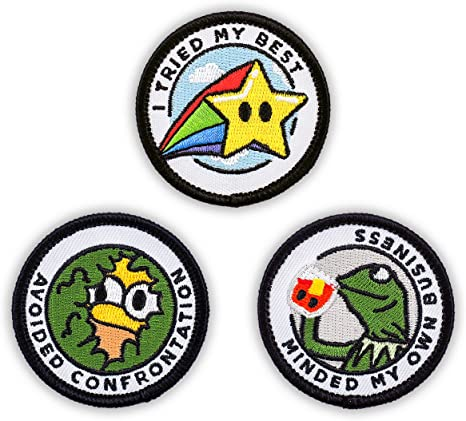 10 Buttons Thats What She Said Embroidered HOOK PATCH BADGE The Office TV