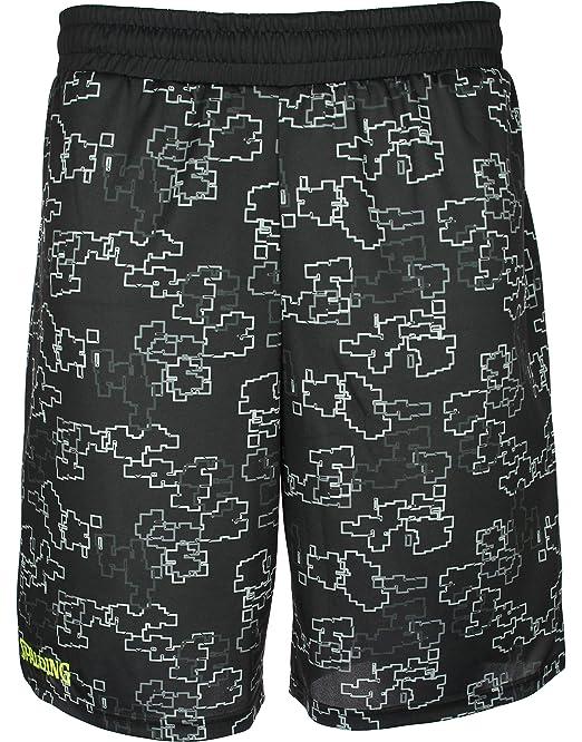 Spalding Street Single Pantalón Corto de Baloncesto, Hombre ...