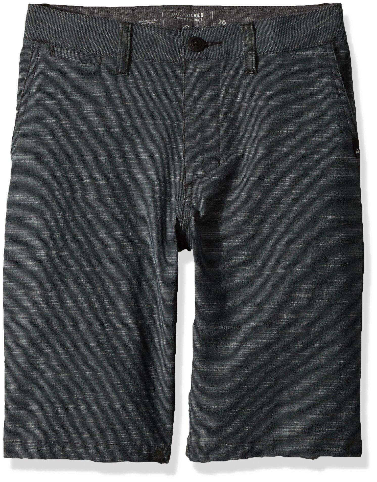 Quiksilver Little Boys' Union Slub Kids Shorts, Black, 6 by Quiksilver (Image #1)