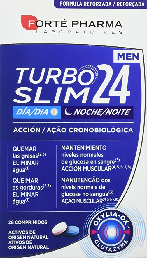 TURBOSLIM Cronoactive men 28 comps