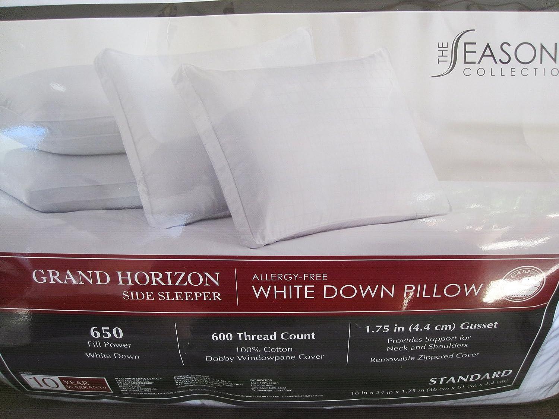 Amazon.com: The Seasons Collection[r] Grand Horizon White Down ...