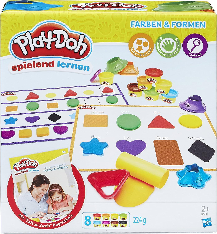 Knete Play Doh Erste Farben Formen Begleitheft Ausstecher Kinder Spielzeug Spass