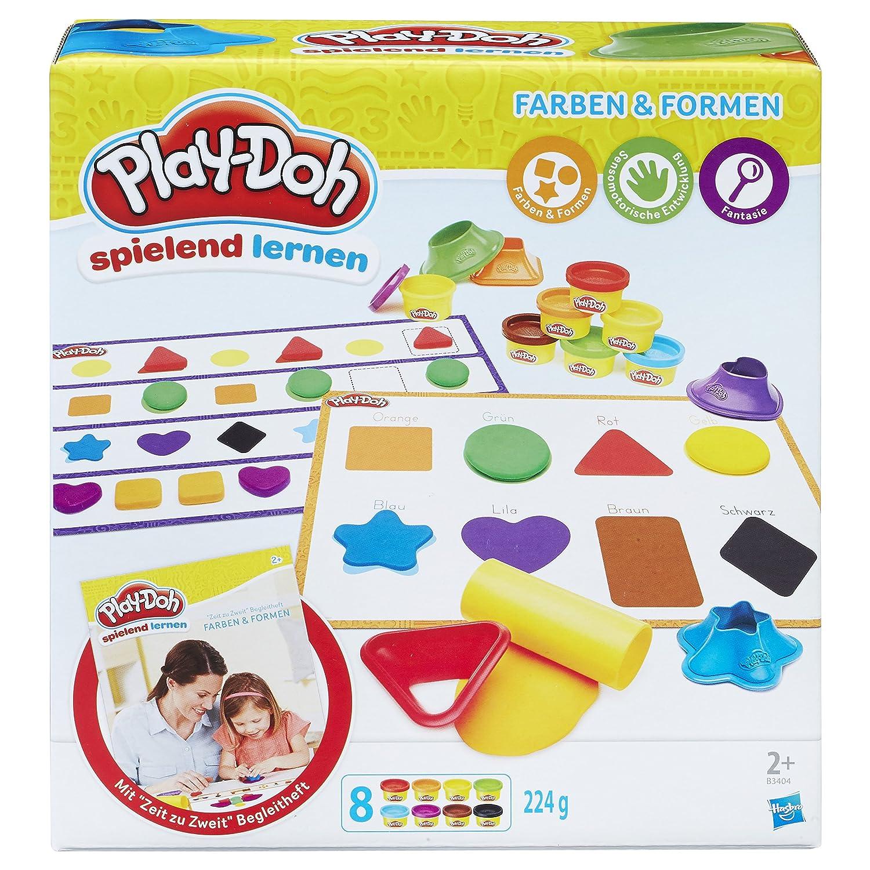 Hasbro Play-Doh B3404100 - Erste Farben und Formen, Knete: Amazon.de ...