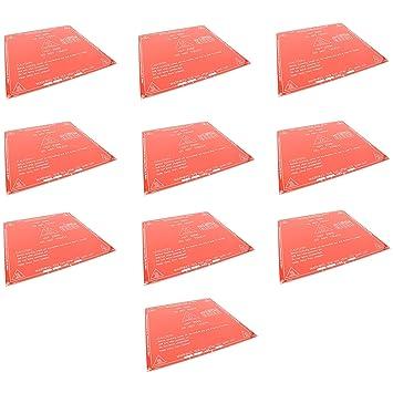 Amazon.com: 10 piezas impresora 3d impresión de cama de la ...