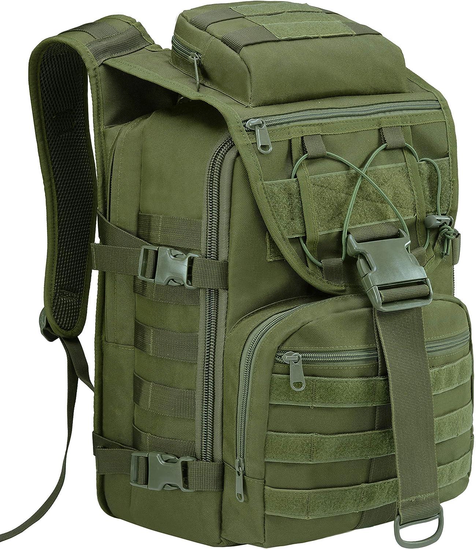 T1FE 1SFE Tactical Military Backpack Molle Backpack 35L Tactical Survival Bag Bugout Assault Pack Laptop Rucksack