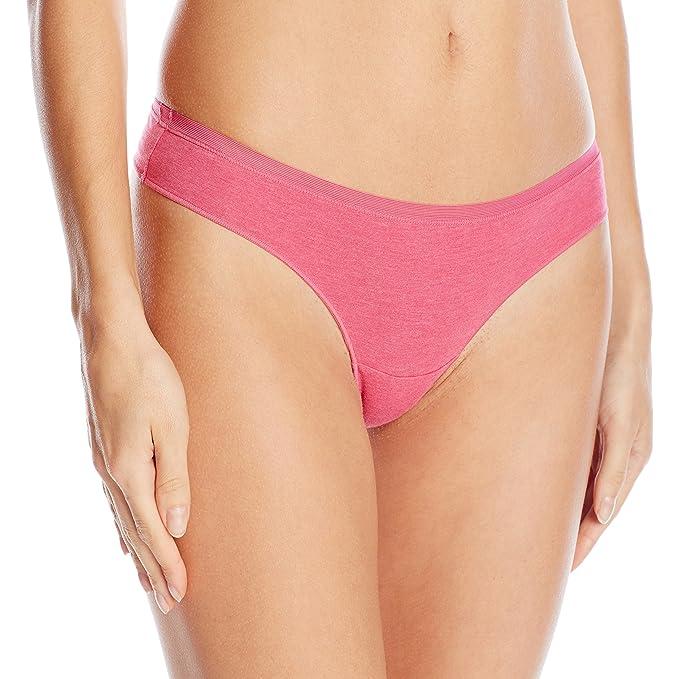 907d70f5f OnGossamer Women s Cabana Cotton Lounge Low-Rise Thong Panty at ...