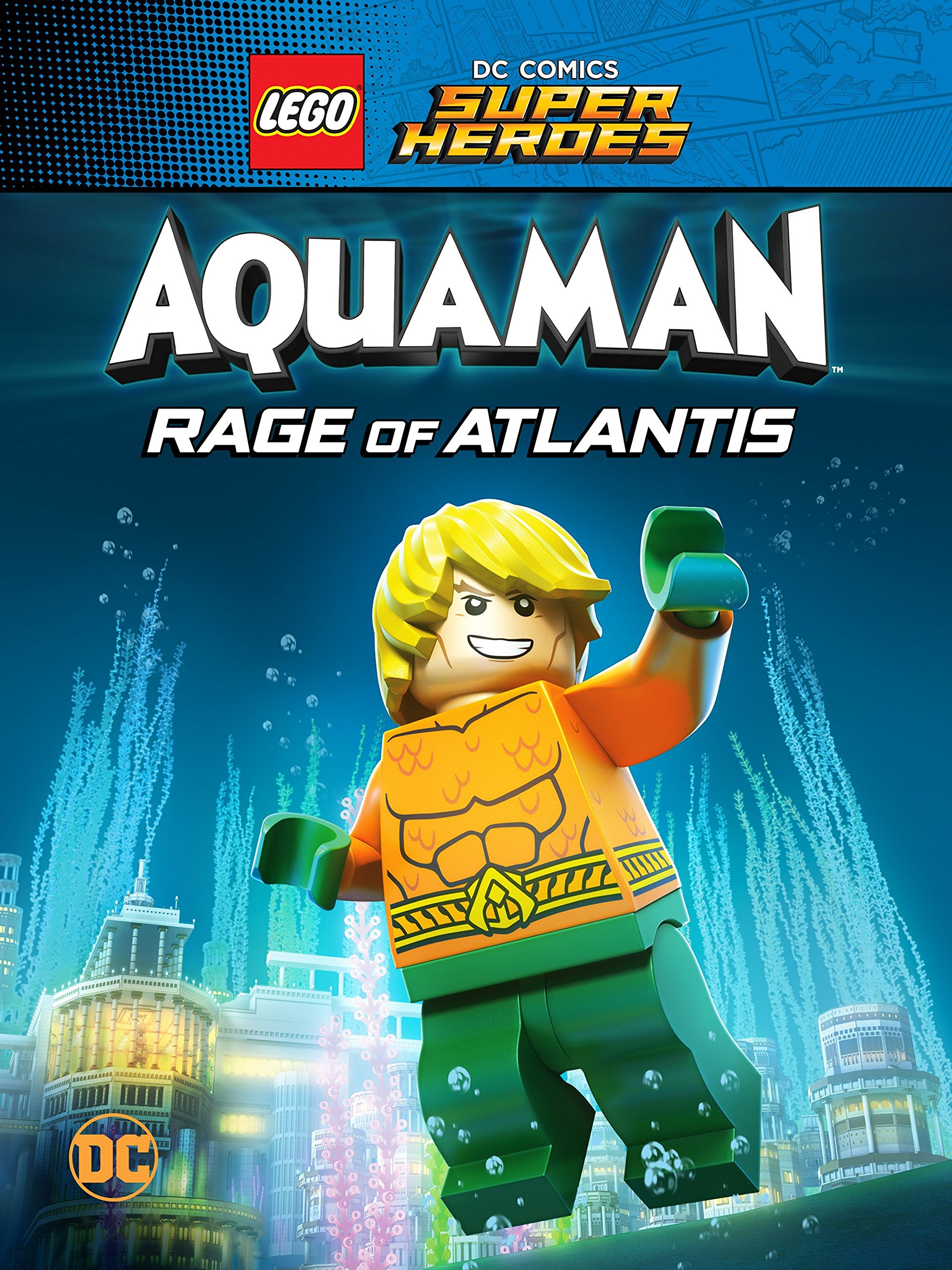 Amazon.com: Watch LEGO DC Comics Super Heroes: Aquaman: Rage ...