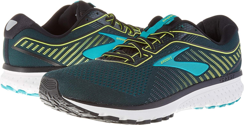Brooks Ghost 12, Zapatillas de Running para Hombre, Verde Negro, 41 EU: Amazon.es: Zapatos y complementos