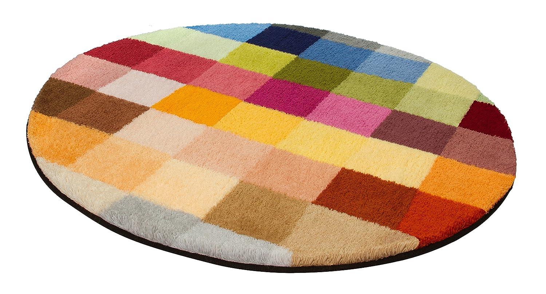 Kleine Wolke 8821148528 Cubetto Badteppich Polyacryl, mehrfarbig, 90 ...
