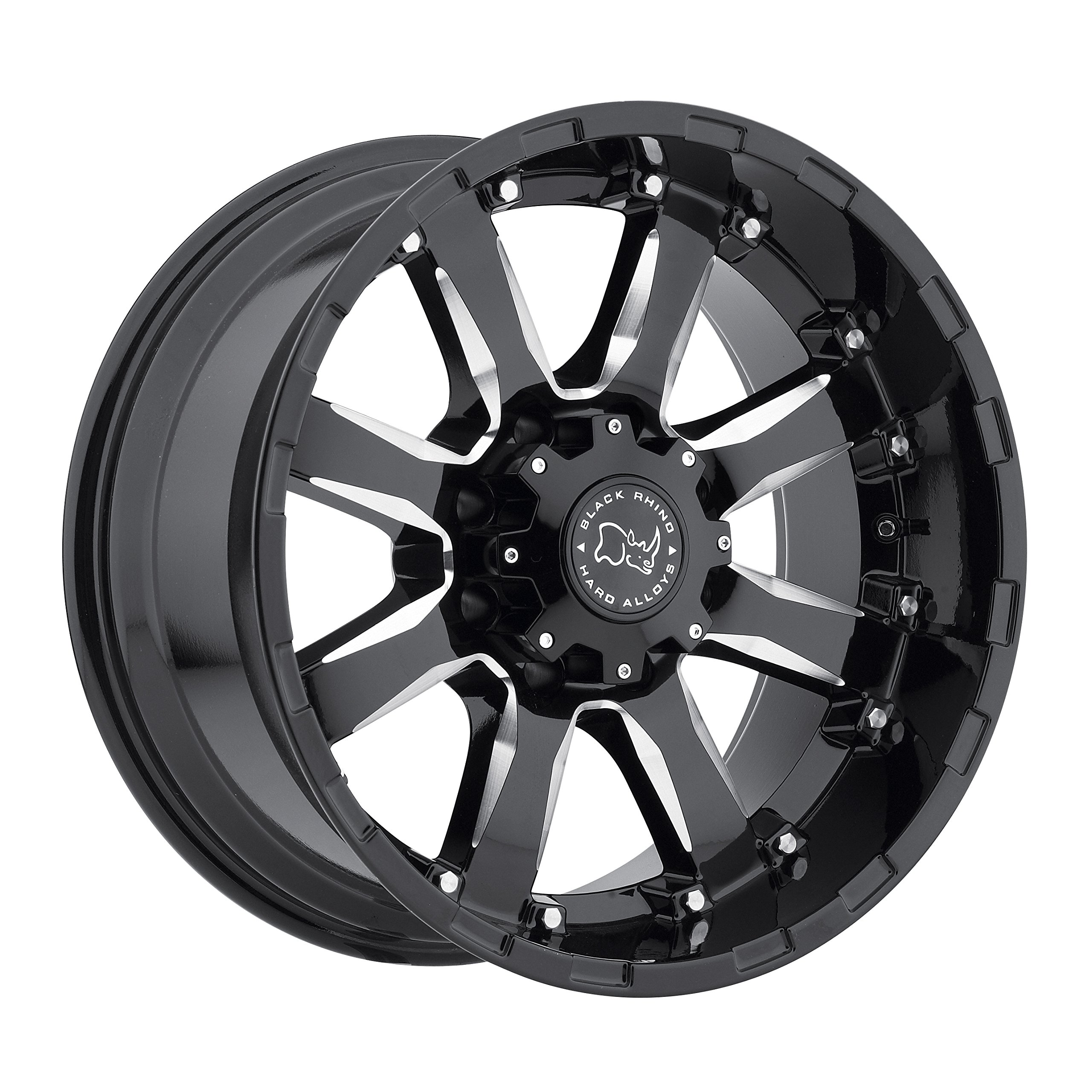 Black Rhino SIERRA Black Wheel (17x9''/6x139.7mm ,+12mm offset)