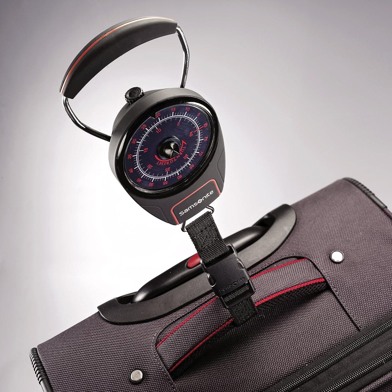 Red//Black Samsonite Luggage Manual Luggage Scale One Size