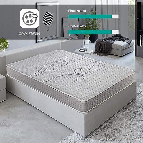 ROYAL SLEEP Colchón viscoelástico 105x190 de máxima Calidad, Confort y firmeza Alta, Altura 14cm