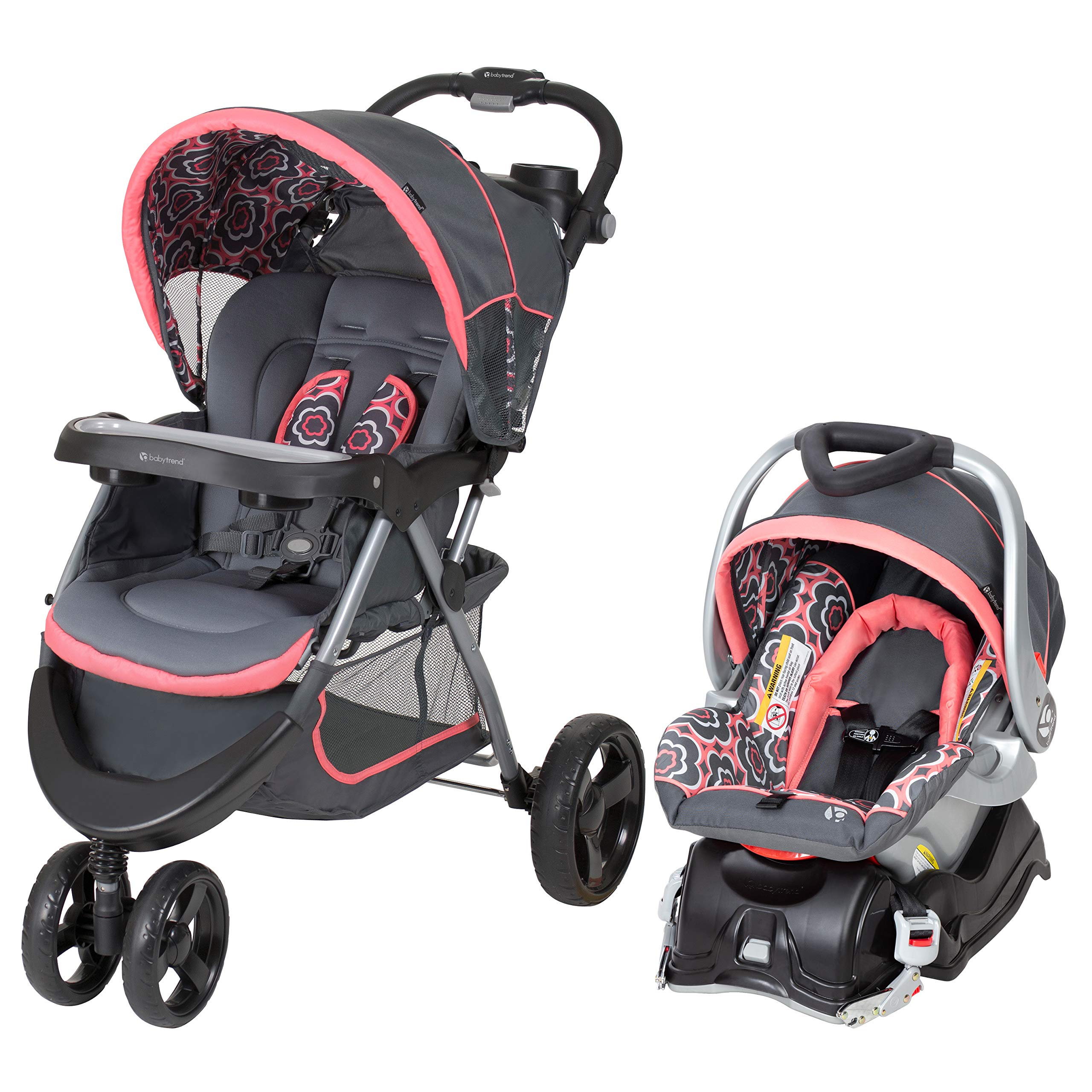 Baby Trend Nexton Travel System, Coral Floral by Baby Trend