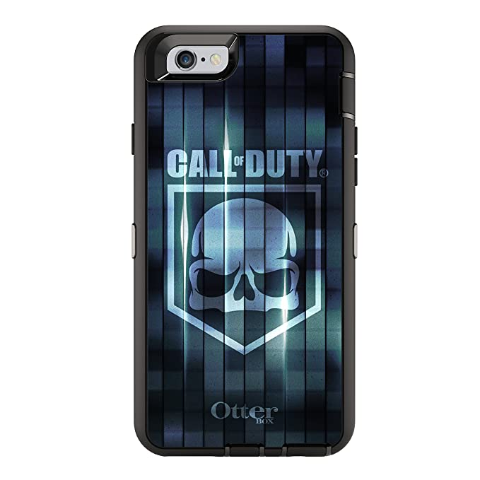 meet 9d4a1 f1afe OtterBox DEFENDER iPhone 6/6s Case - Frustration Free Packaging - CALL OF  DUTY BLUE CAMO
