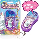 Unicorn Fartz Magical Farts Noise Maker | Hilarious Fart Machine With 6 Sounds | Funny Prank Gag Gift For Kids and Adults – Six Magic Farting Unicorn Sound Effects – With Keychain Attachment