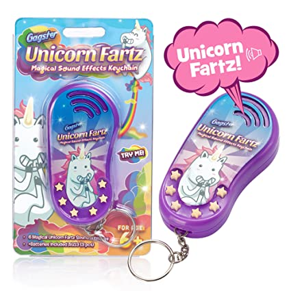 Amazon com: Unicorn Fartz Magical Farts Noise Maker