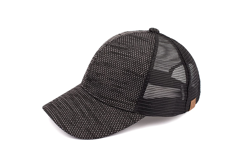 Hatsandscarf CC Exclusives Flyknit Fabric with Mesh Baseball Cap (BA-40)