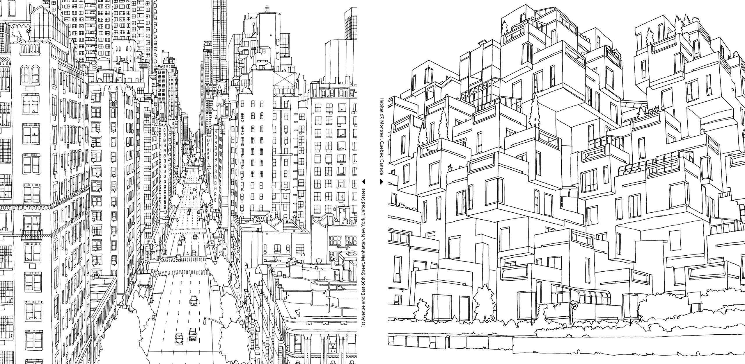 Free coloring pages new york city - Fantastic Cities A Coloring Book Of Amazing Places Real And Imagined Steve Mcdonald 0499995260320 Amazon Com Books