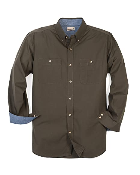 Backpacker Mens Wrinkle Free Rip Stop Shirt