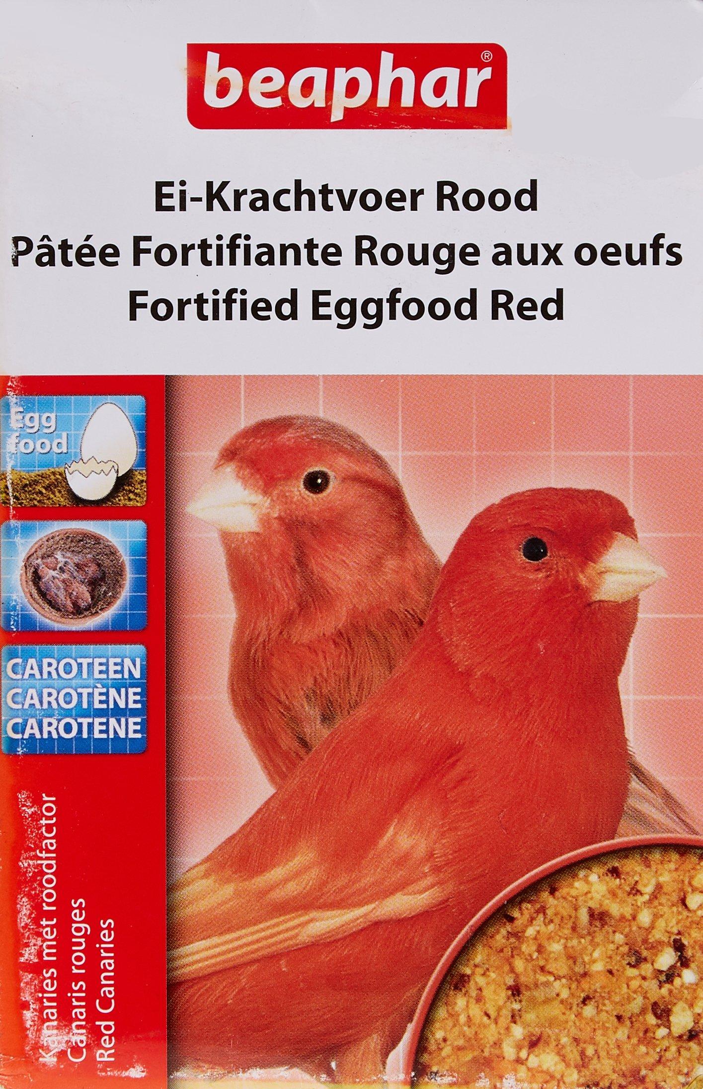 Beaphar Fortified Eggfood, 150 g, Red