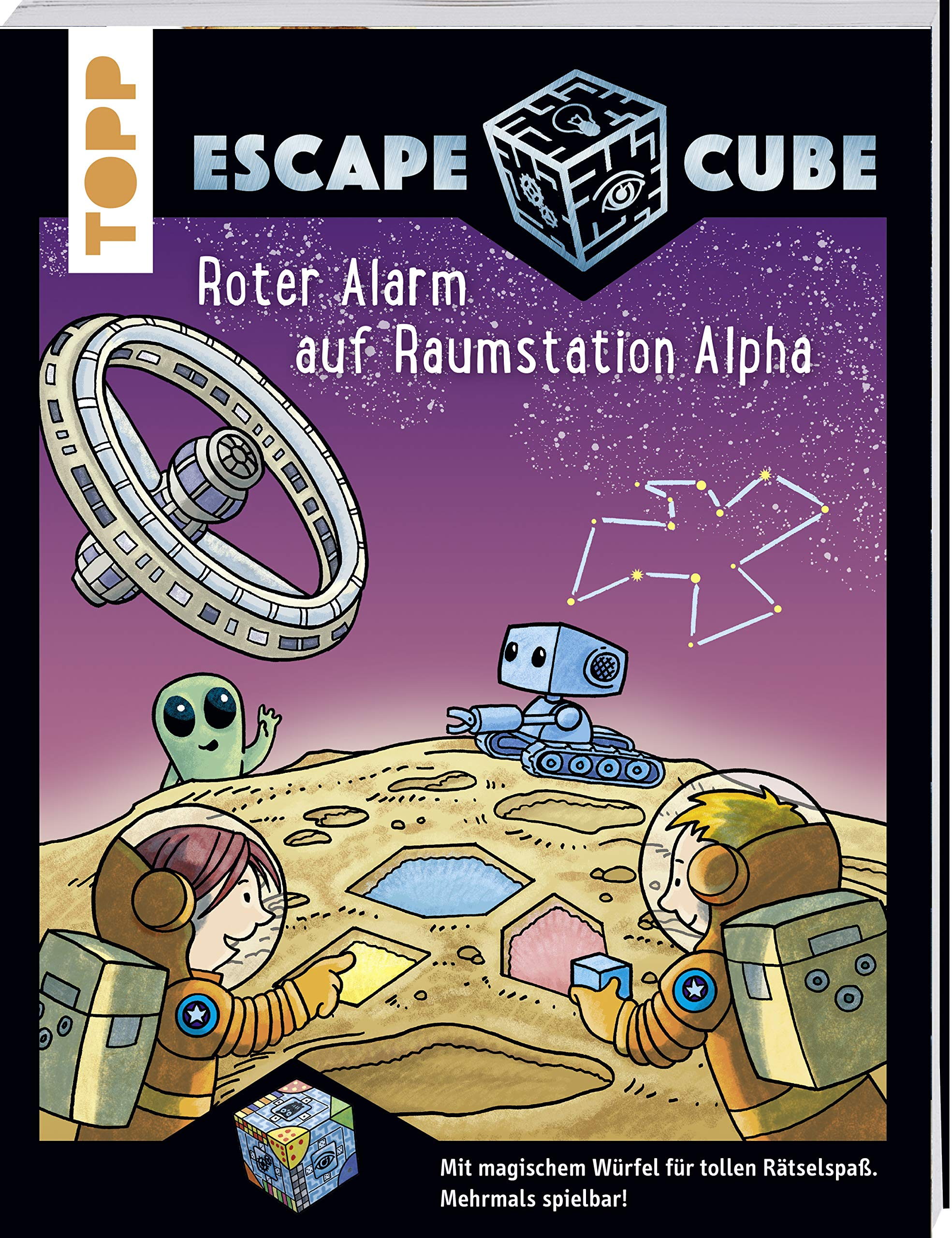 Escape Cube Kids Roter Alarm auf Raumstation Alpha: Das ...