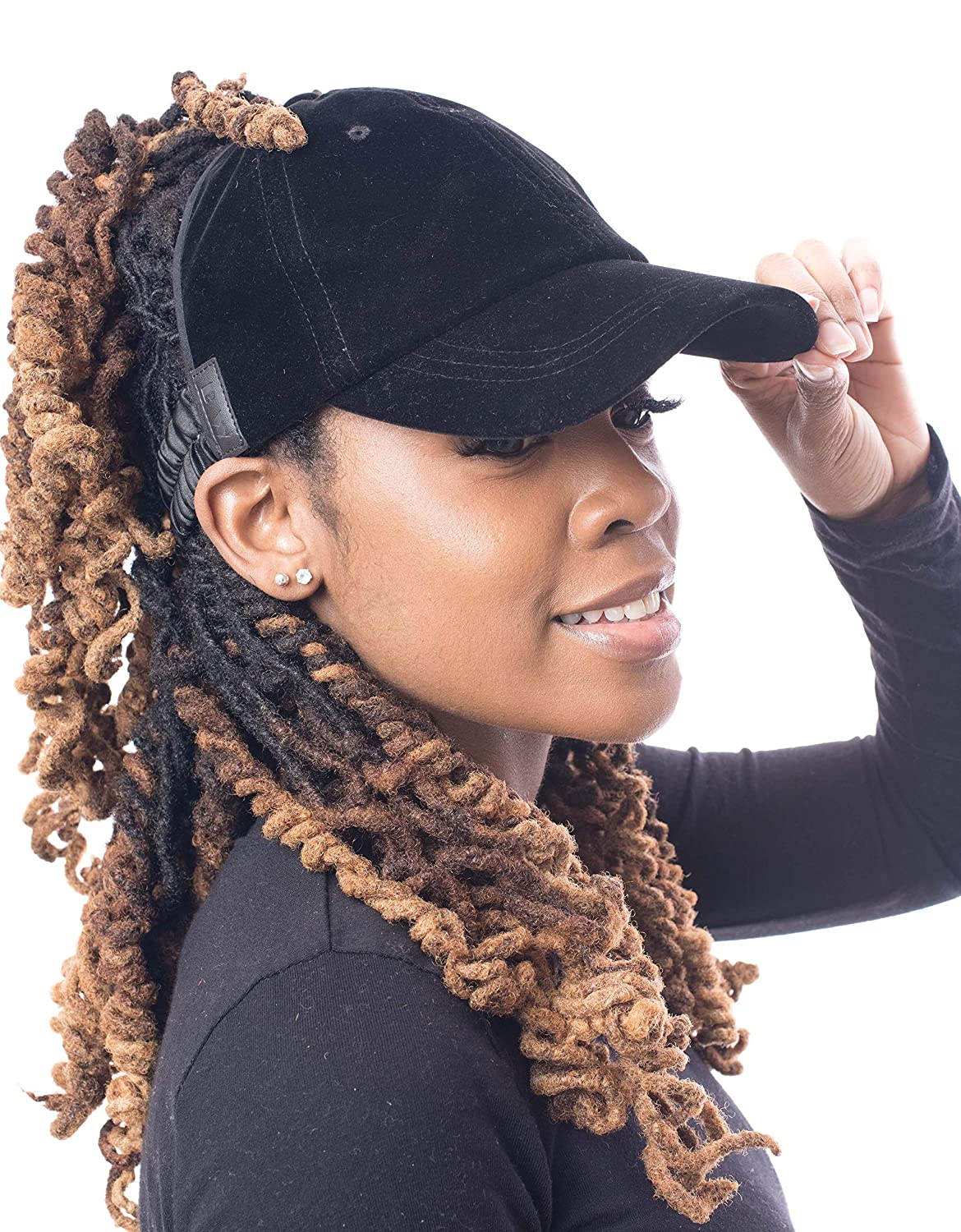 bed2cf19432 Amazon.com  Satin Lined Baseball Hat for Women