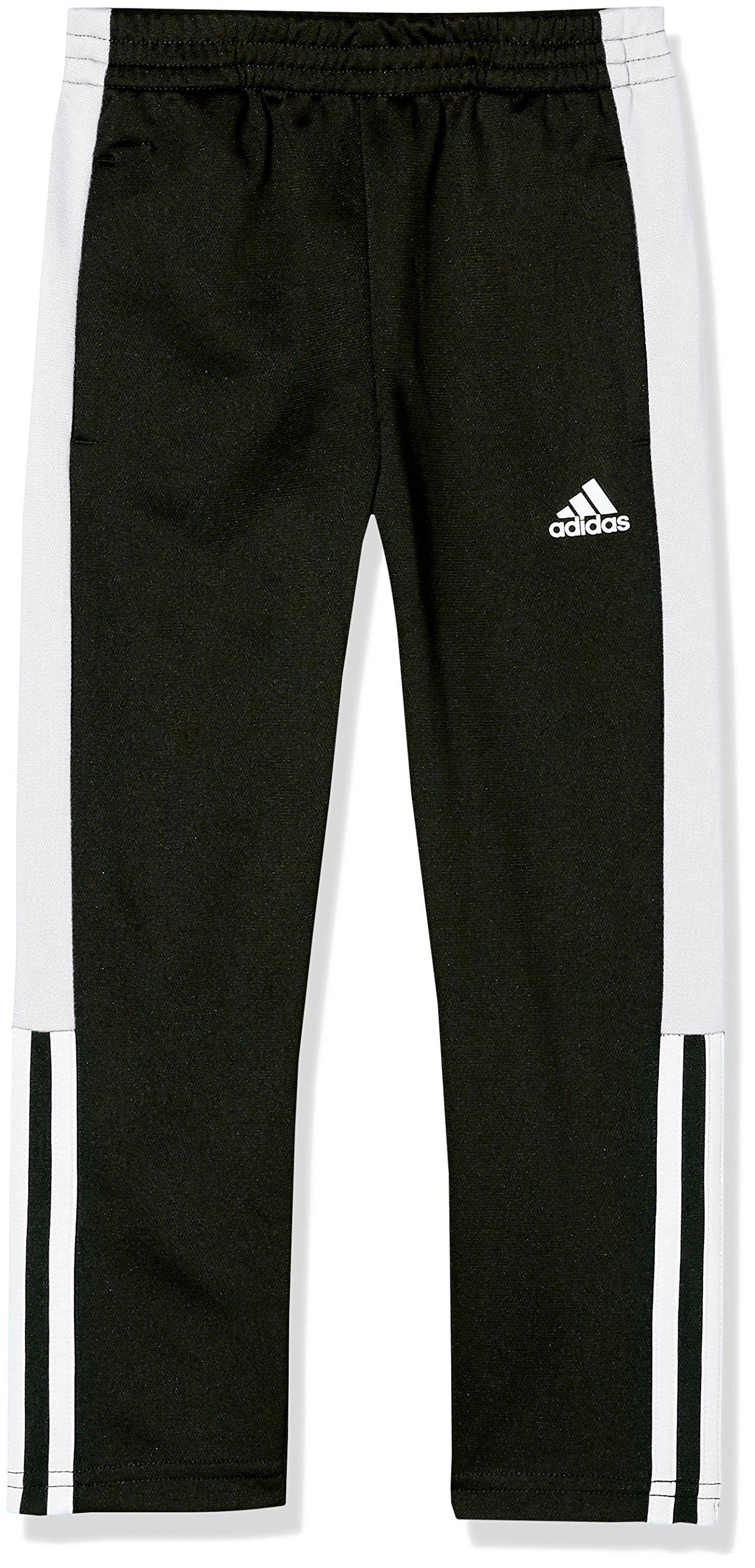adidas Boys' Toddler Climalite Iconic Striker 17 Pant, Black, 7 by adidas