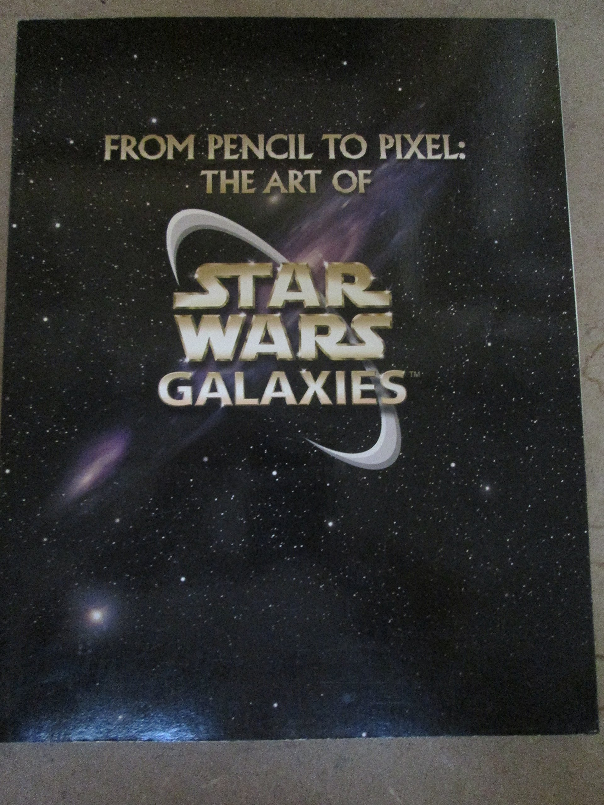 From Pencil to Pixel: The Art of Star Wars Galaxies pdf epub