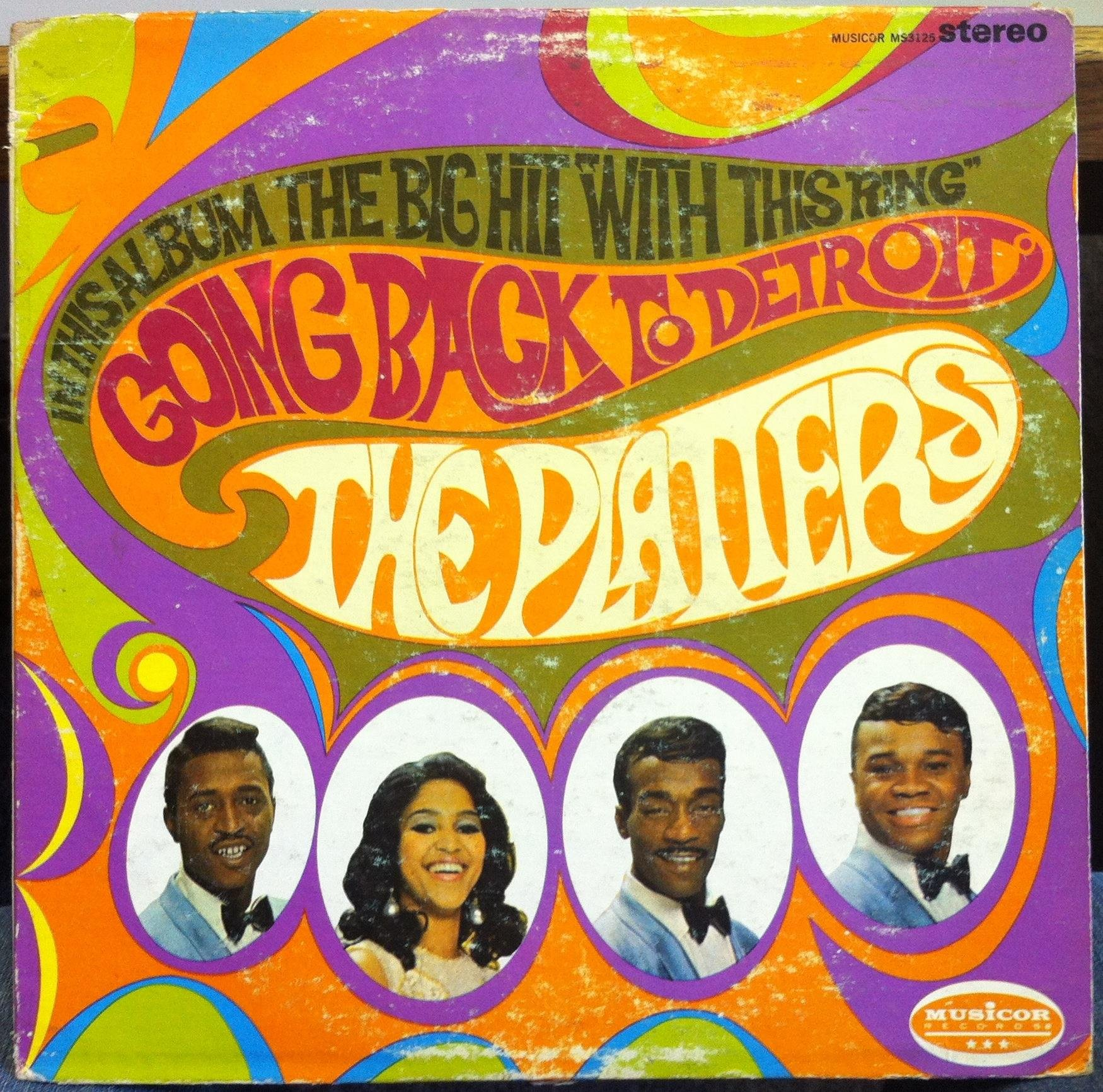 The Platters Going Back to Detroit by MUSICOR RECORDS