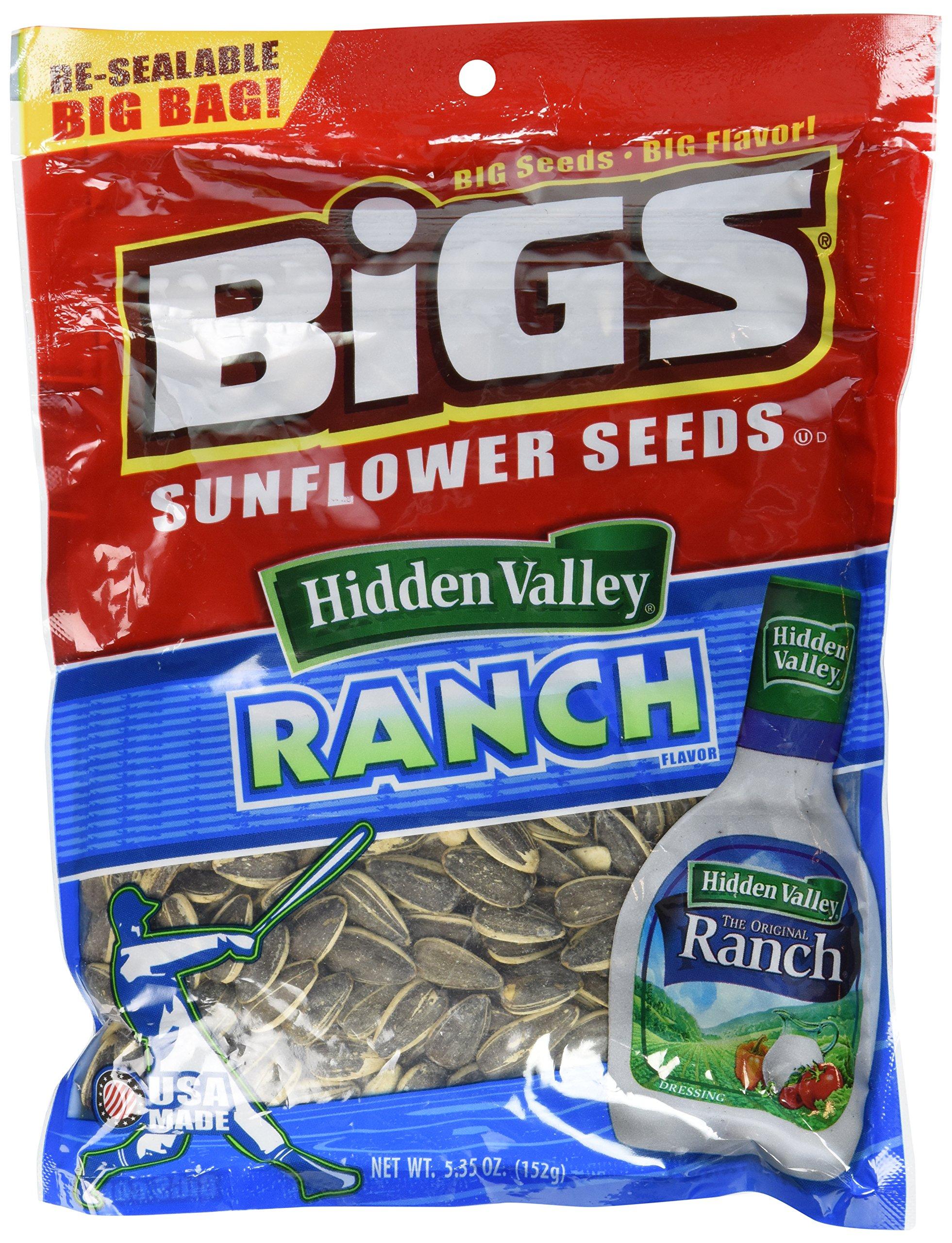 BIGS Seed Sunflower Hidden Valley Ranch, 5.35 oz