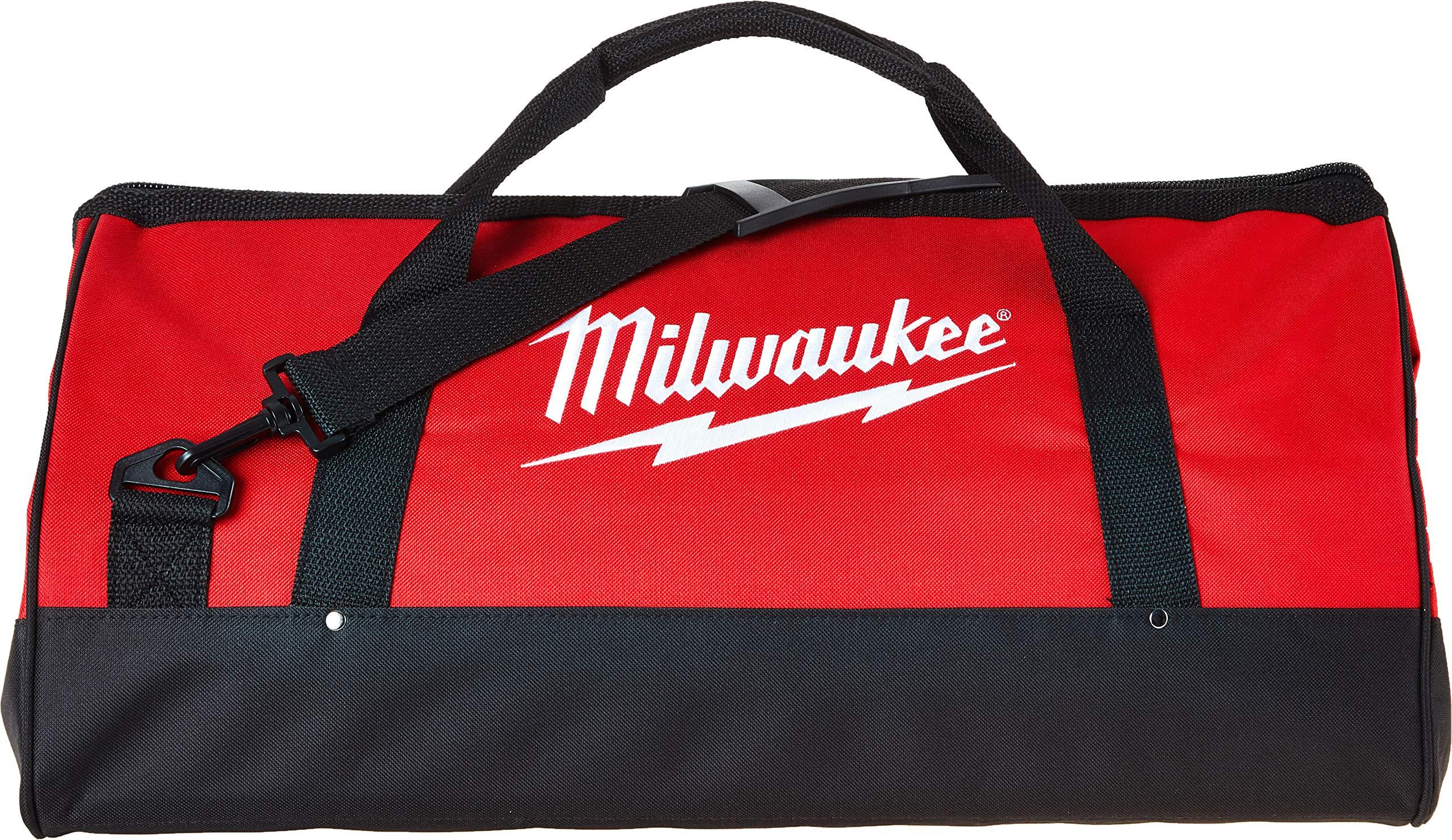 Milwaukee Bag 23x12x12nch Heavy Duty Canvas Tool Bag 6 Pocket (Basic) by Milwaukee