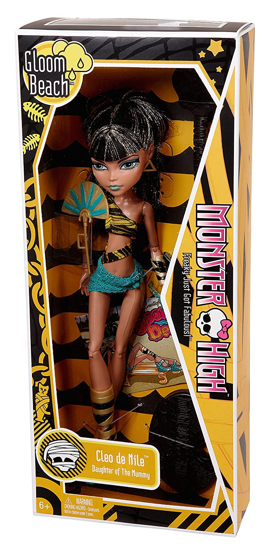 Worksheet. Amazoncom Monster High Gloom Beach Cleo De Nile Doll Toys  Games