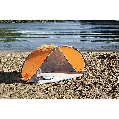 I_SL Large Pop-Up Beach Shade Shelter : Garden & Outdoor